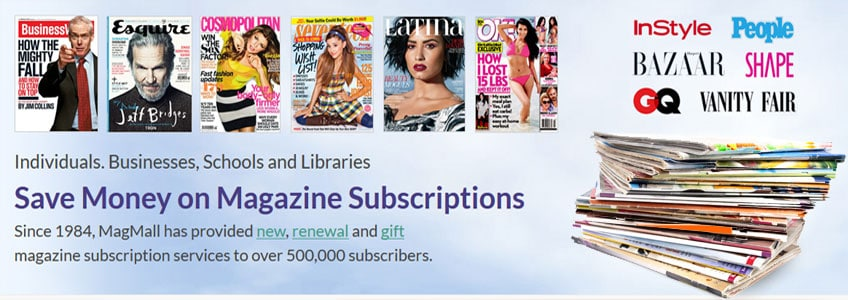 Magazine Subscription Service