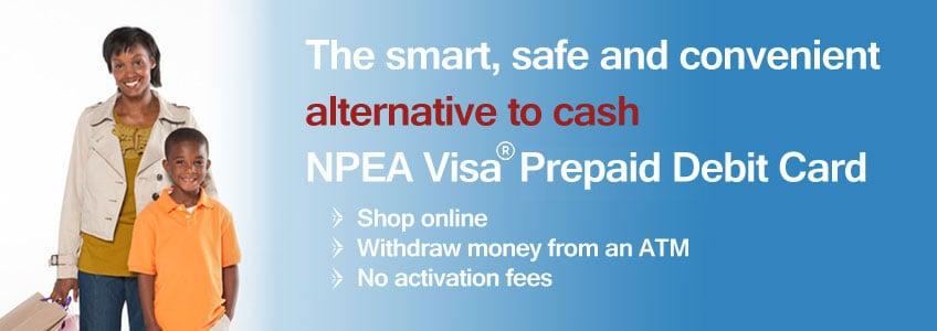 NPEA Visa Prepaid Card